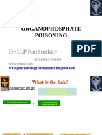 Classes 3 & 4 OP poisoning and Anticholinergics