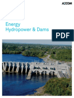 AECOM Hydropower and Dams Global Brochure
