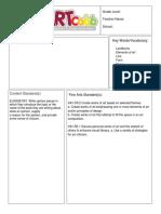 kickstart lesson plan template 4