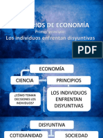 Principio 1 (Economía)