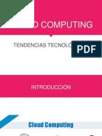 Tendencias - Cloud Computing
