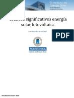 2017_01_17 Datos Fotovoltaica en España
