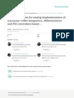 Applications PID Franccional