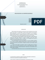 Reglas Relativas a Los Contratos Bilaterales1