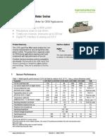Sensirion Liquid Flow Meters LG16 Datasheet V4