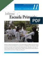 LA ESCUELA PRIMARIA DEL SISTEMA EDUCATIVO PROVINCIAL