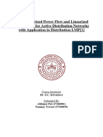 Novel Linearized Power Flow and Linearized OPF Models for Active Distribution Networks With Application in Distribution LMP