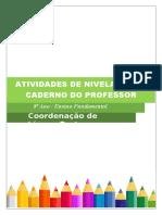 Atividades de Nivelamento L.port. 8º Ano-professor