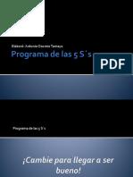 Programa de Las 5 Ss