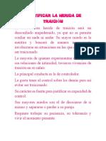 IDENTIFICAR LA HERIDA DE LA TRAICIÓN EJERCICIO N° 3