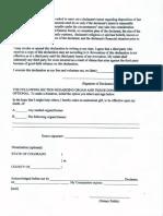 Organ Donation Form