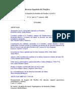 Revista Española Del Pacifico
