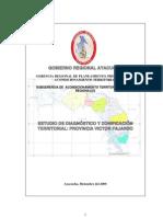 Estudio de Diagnostico y Zonificacion Territorial de Fajardo.
