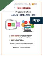 Unidad 2 - HTML, XML y CSS - Comercio Electronico