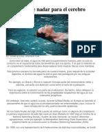 Beneficios de Nadar Para El Cerebro