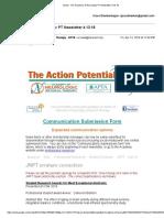 gmail - the academy of neurologic pt newsletter 4