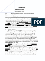 Redacted report of investigation into Sandy Police Department