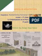 3a Clase Urbanizacion en El Peru 3a Parte
