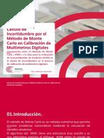 Cálculo de Incertidumbre Por El Método de Monte Carlo en La Calibración de Multimetros Digitales (Johnny Joe Aguilar Mamani)
