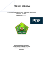 contoh laporan kegiatan UNBK
