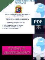 Sistema Administrativo -Abastesimientos