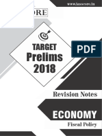Target fiscal policy