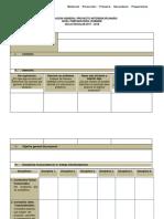 Formato de Planeación General