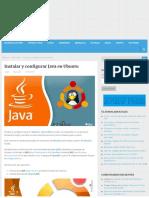 Instalar y Configurar Java en Ubuntu - Linux Para Todos