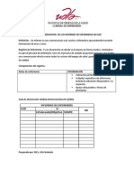 Guia de Observacion de Los Informes de Enfermeria