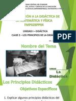 Clase 2 - La Didáctica - Principios