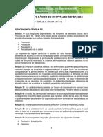 Decreto Nº 2542 72 Reglamento Basico de Hospitales