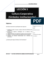 Simbolos Institucionales de la Defensa Civil Colombiana