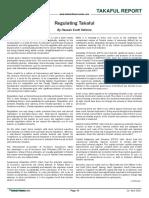 2010 Takaful Islamic Finance News Regulating Takaful Hassan