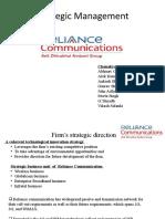 Strategic Presentation Reliance Communications