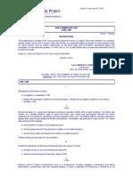 Civil Law Bar Questions 2007