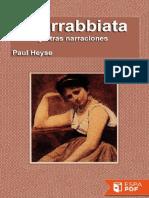 L'Arrabbiata y Otras Narracione - Paul Heyse (4)