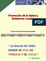 Promocion de La Salud y Gobiernos Locales
