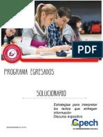 5-Solucionario Estrategias Para Interpretar Los Textos Que Entregan Información