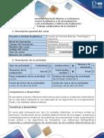 Guia de Actividades y Rúbrica de Evaluación - Fase 2 - Trabajo Colaborativo 1