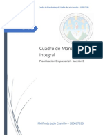 Cuadro de Mando Integral - Melfin de Leon