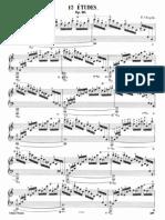 Chopin Etudes Op.10