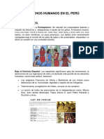 Derechos Humanos en El Perú