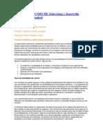 Principio 10 de COSO III Selecciona y Desarrolla Actividades de Control