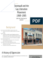 stonewall riots   gay liberation movement