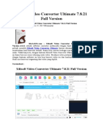 Xilisoft Video Converter Ultimate 7.8.21 Full Version
