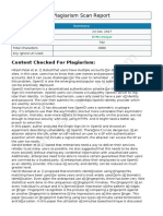 Plagiarism Report for literature Survey