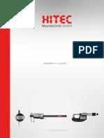Hitec - Katalog Uzupełniający 2018 D