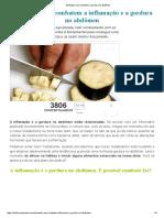 Alimentos Que Combatem a Gordura No Abdômen