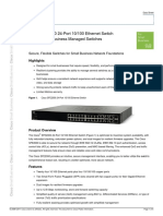 Cisco SFE2000 24-Port 10 100 Ethernet Switch