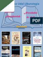 2018ko maiatza Literatura
